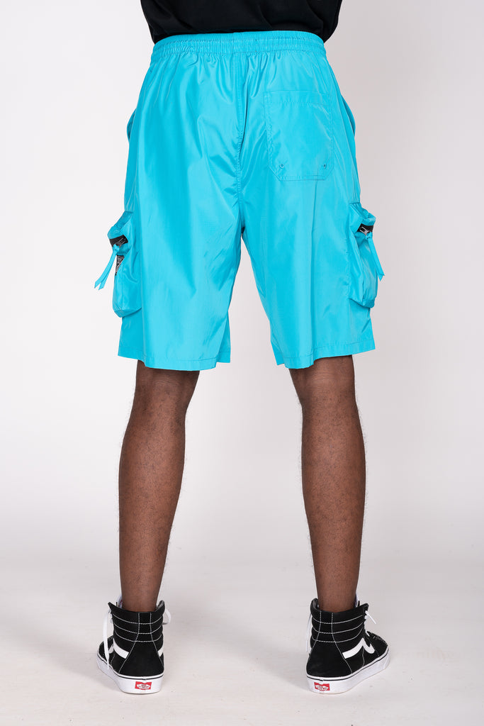 NYLON BOARD SHORTS - Smoke Rise Varsity Jacket