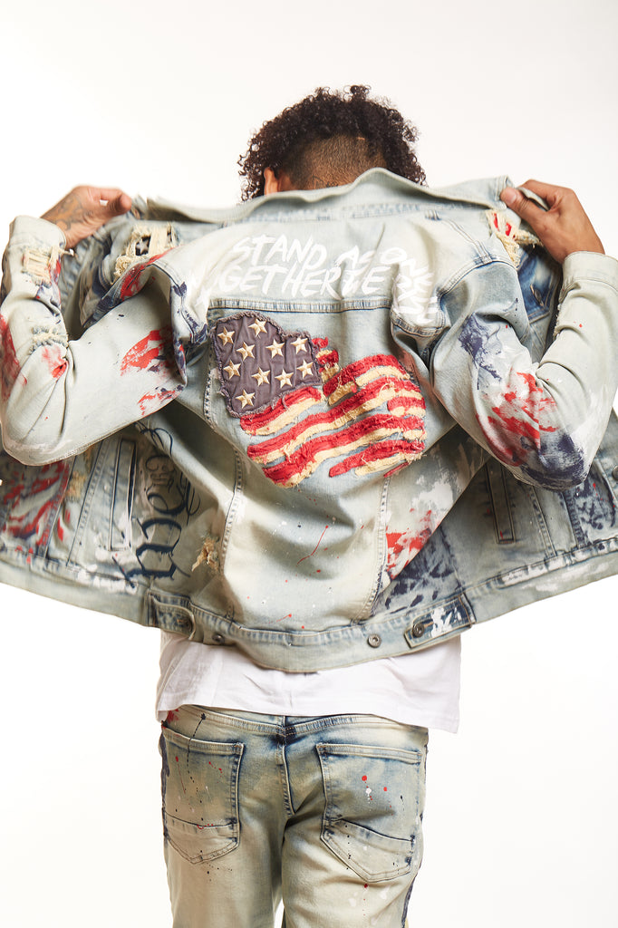 FASHION AMERICANA DENIM JACKET