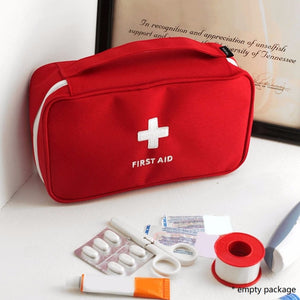 First Aid Kit For Camping , Survival Handbag Emergency Medical Travel Kit.