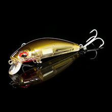 Load image into Gallery viewer, Qxo Fishing Lure sinking Wobbler Fishing Crankbaits with light for night or day fishing
