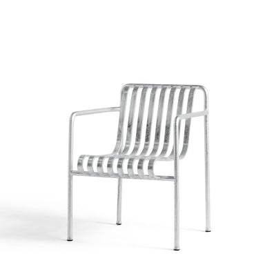 Palissade Dining Armchair Hot Galvanized (PRE-ORDER)