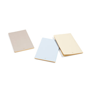 Edge is a notebook with gilt edges that add a certain sense of exclusivity to the plain pages on the inside.