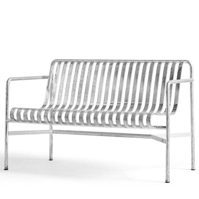 Palissade Dining Bench Hot Galvanized (PRE-ORDER)