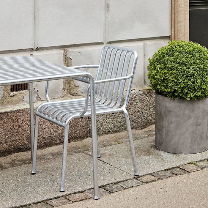 Palissade Armchair Hot Galvanized (PRE-ORDER)