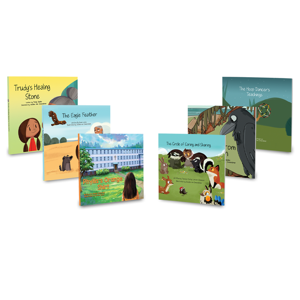 6 Hardcover Rhyming Books (English)