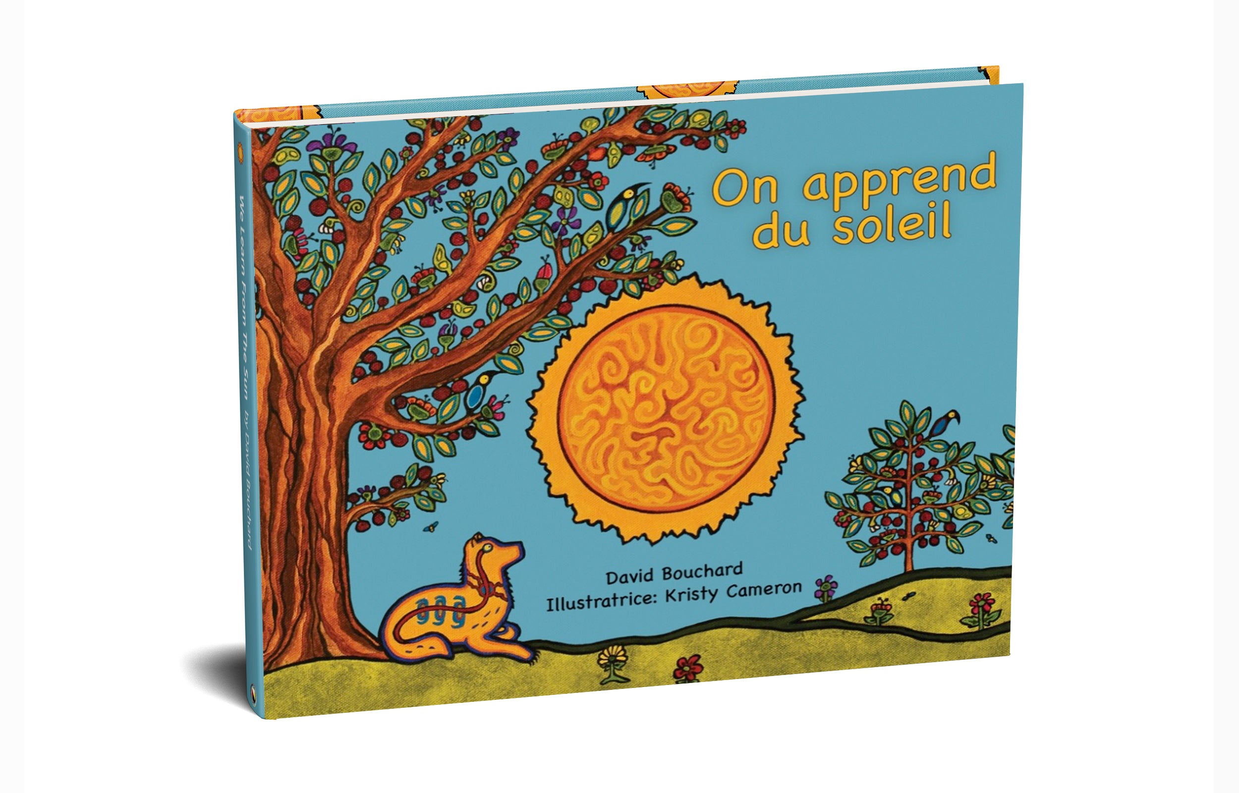 On Apprend Du Soleil (Pre-order) - Medicine Wheel Education - Bookstore