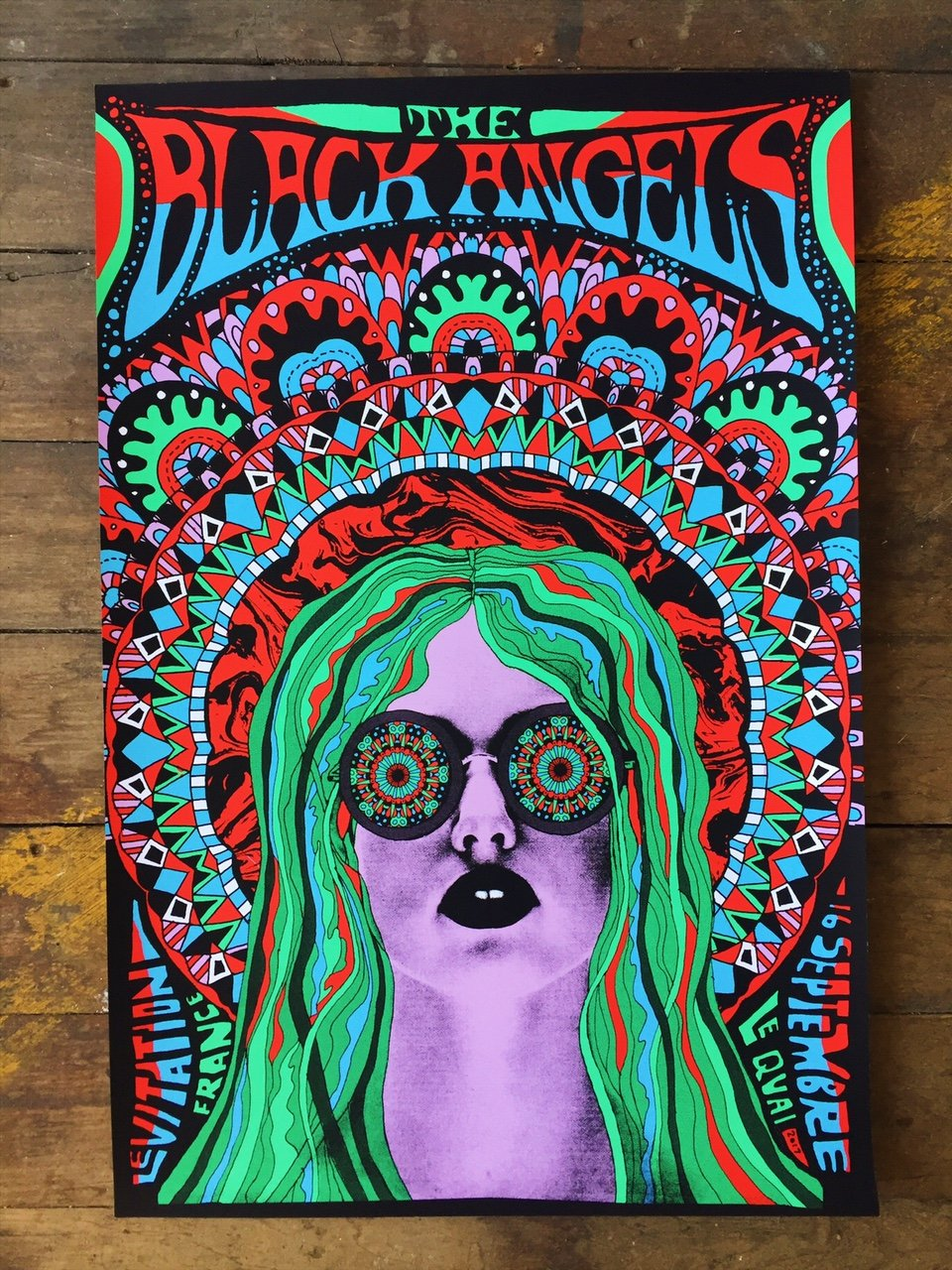 The Black Angels by Nate Duval