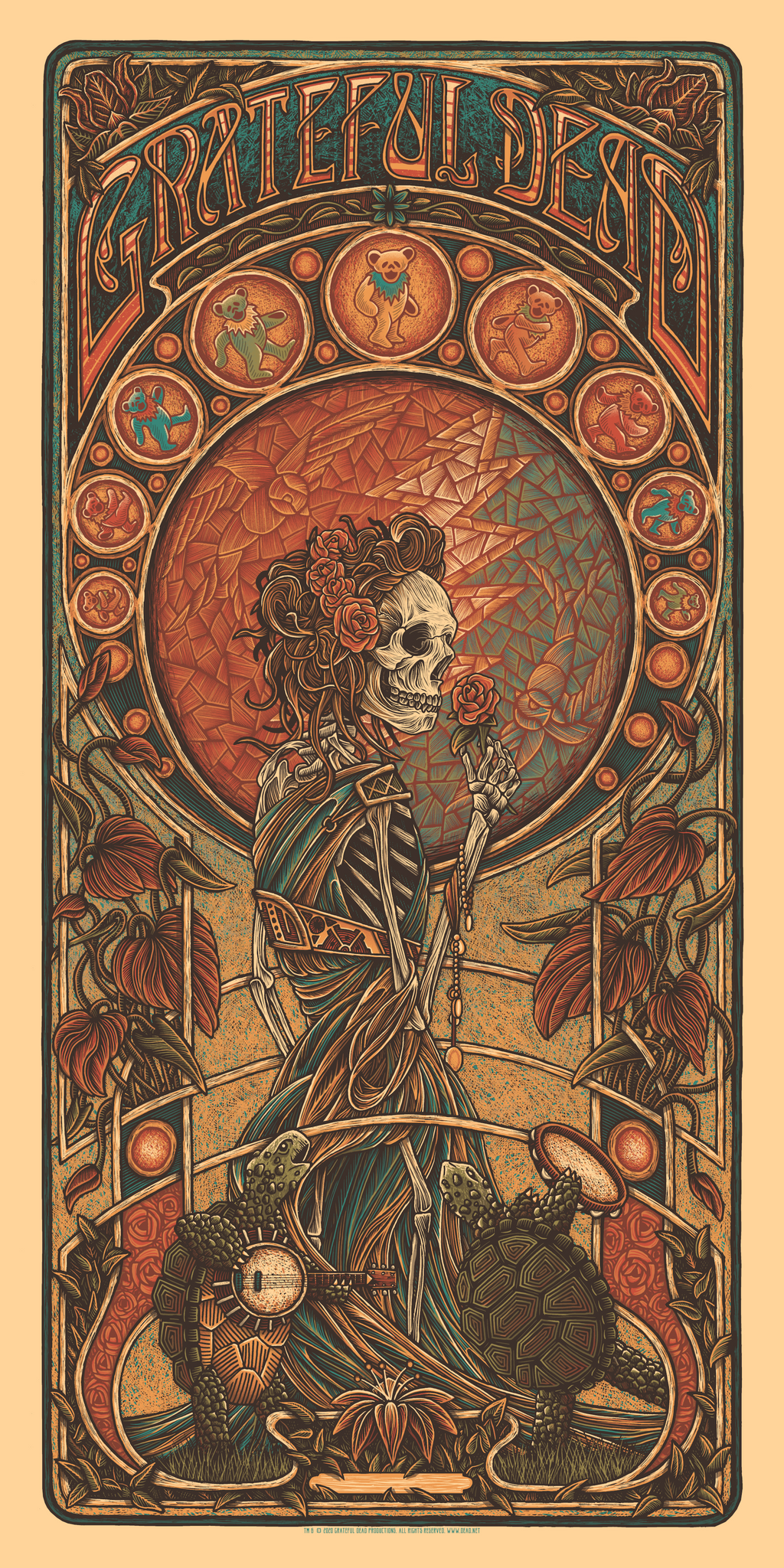 Grateful Dead by Luke Martin