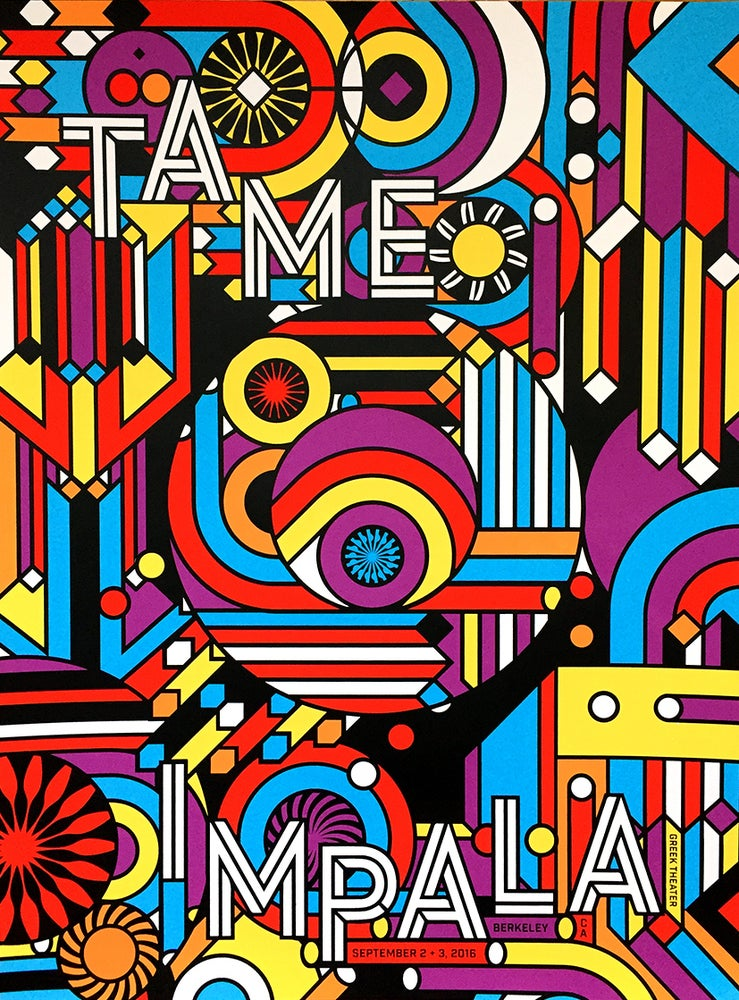 Tame Impala by Nate Duval