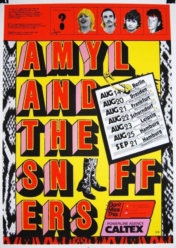 Amyl & The Sniffers by Fuzzgun