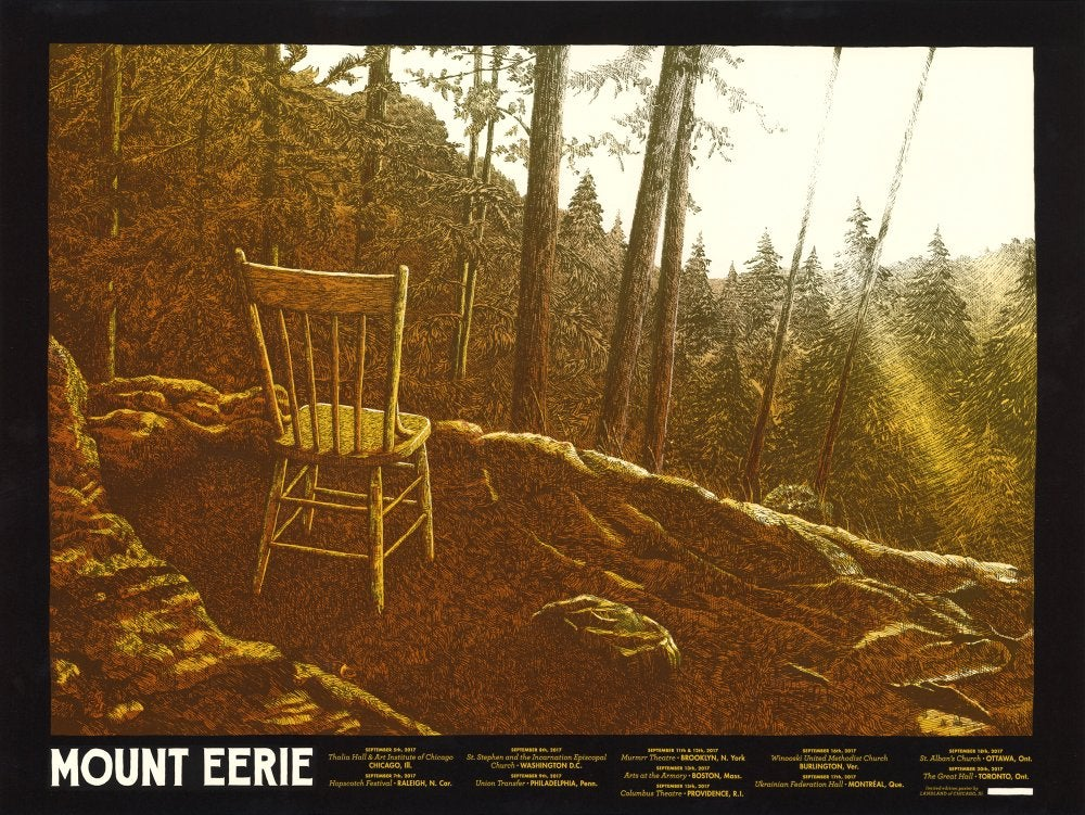 Mount Eerie by Dan Black