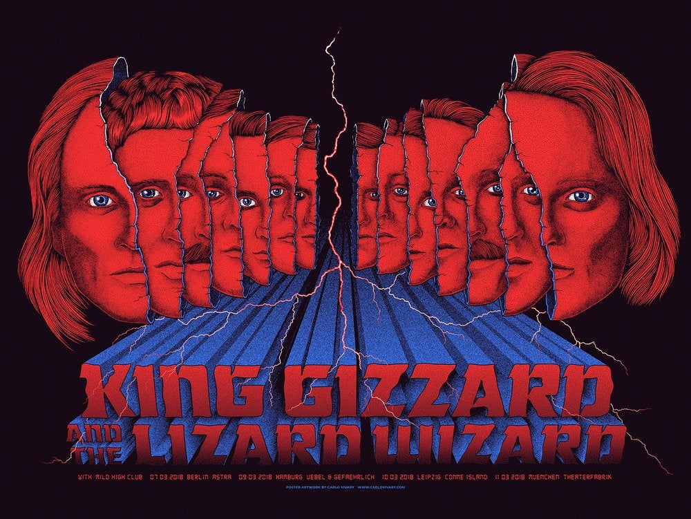 King Gizzard by Carlo Vivary