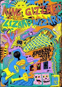 King Gizzard & The Lizard Wizard by Sam Kettel