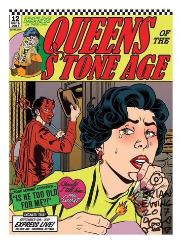 Queens Of The Stone Age by Brian Ewing