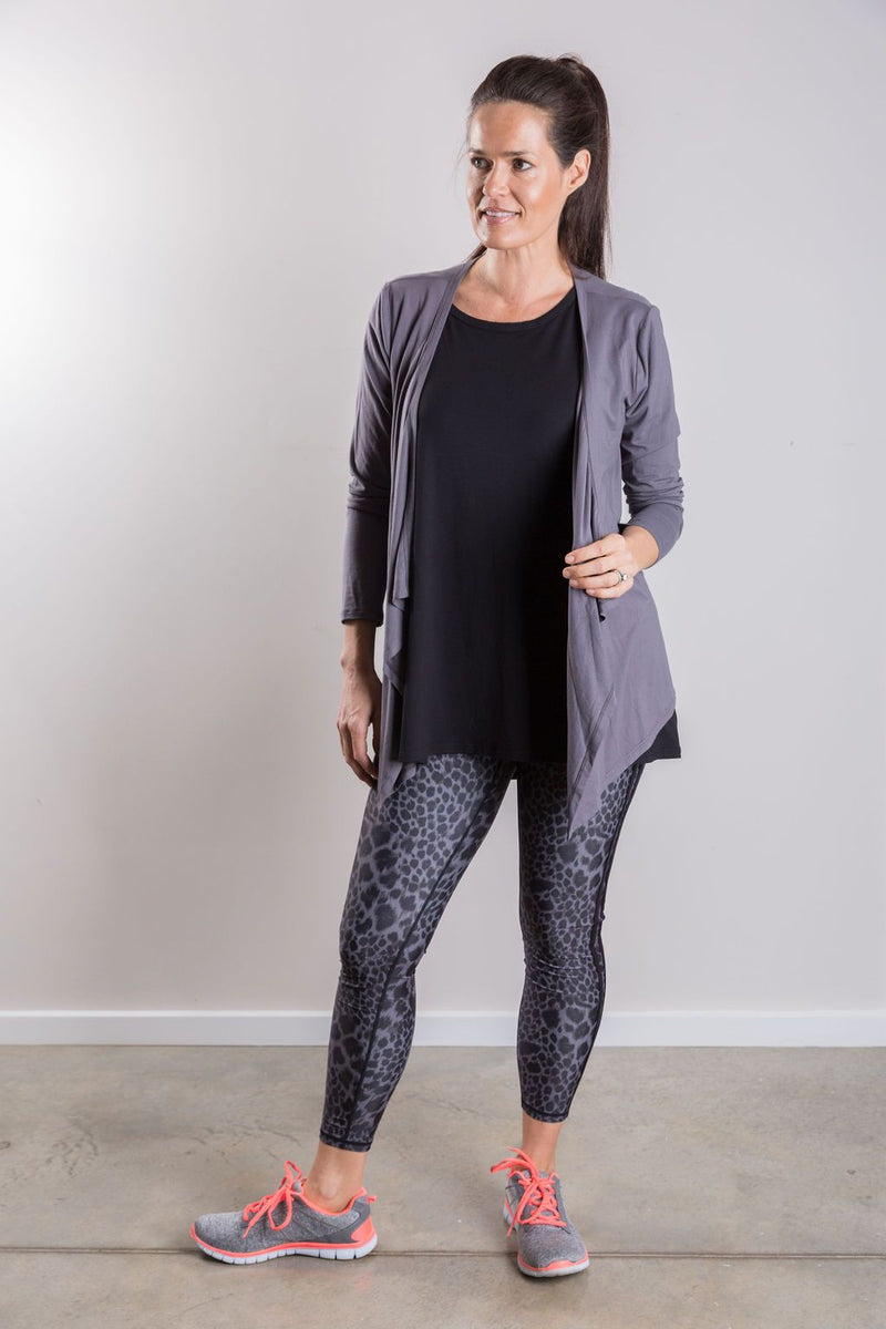 T19 Relaxed Layer Cardigan