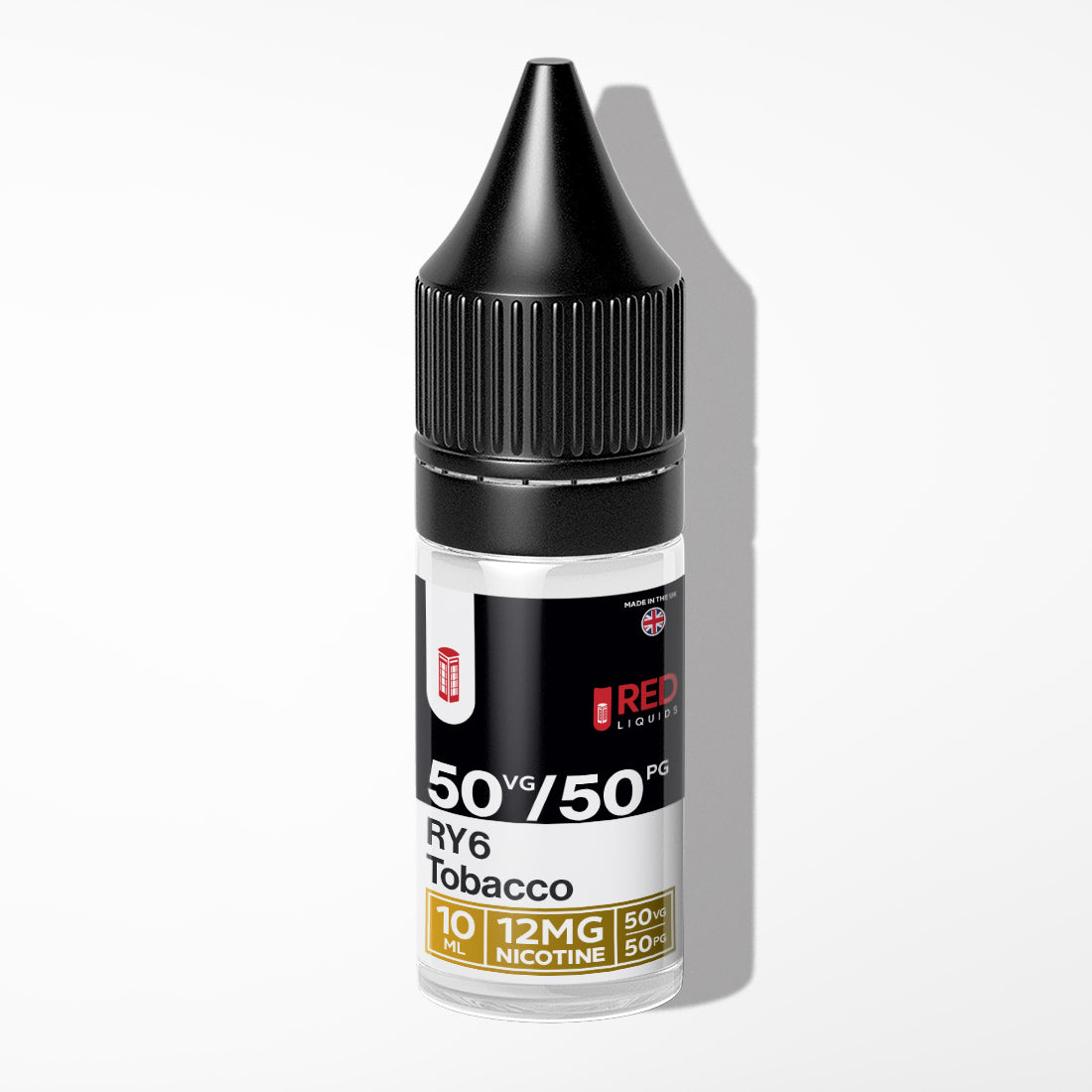 RED Liquids - RY6 Tobacco