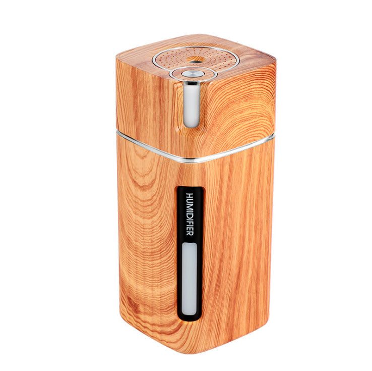 Wood grain portable water replenishing instrument - Nuxie Co.