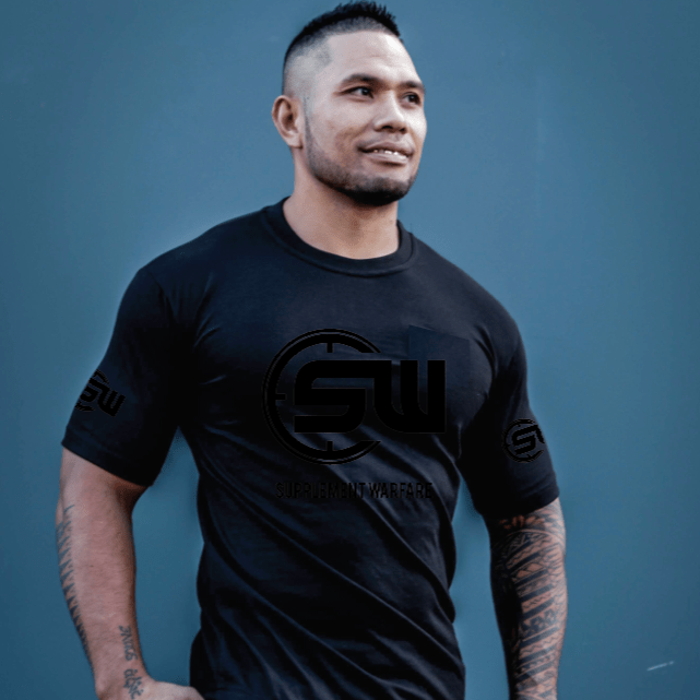 Supplement Warfare 19 Tshirt Black Out