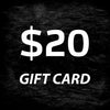 Digital Giftcard $20