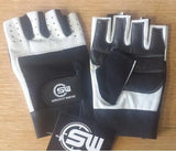 Supplement Warfare Black White Lifting Gloves