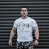 Supplement Warfare 19 Tshirt White & Camo