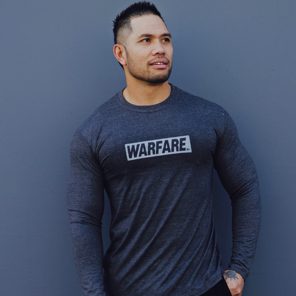 Supplement Warfare Fitted Long Sleeve Grey