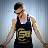Supplement Warfare Black Gold Singlet