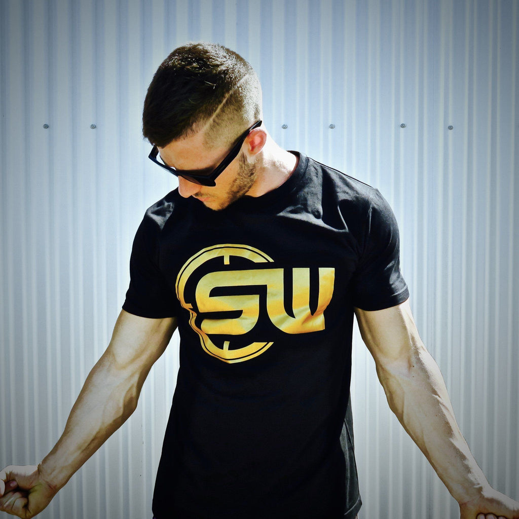 Supplement Warfare Gold Logo Tshirt