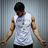 Supplement Warfare Crack3d White Muscle Tank