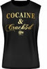Supplement Warfare Crack3d Black Muscle Tank
