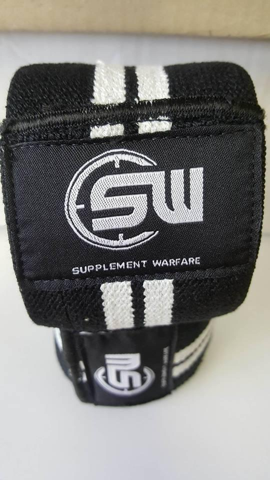 1. Pair of Supplement Warfare Knee Wraps
