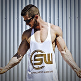 Supplement Warfare White Gold Singlet