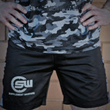 Supplement Warfare MMA Shorts Black & Camo