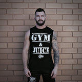 Supplement Warfare Gym & Juice Black Muscle Tank