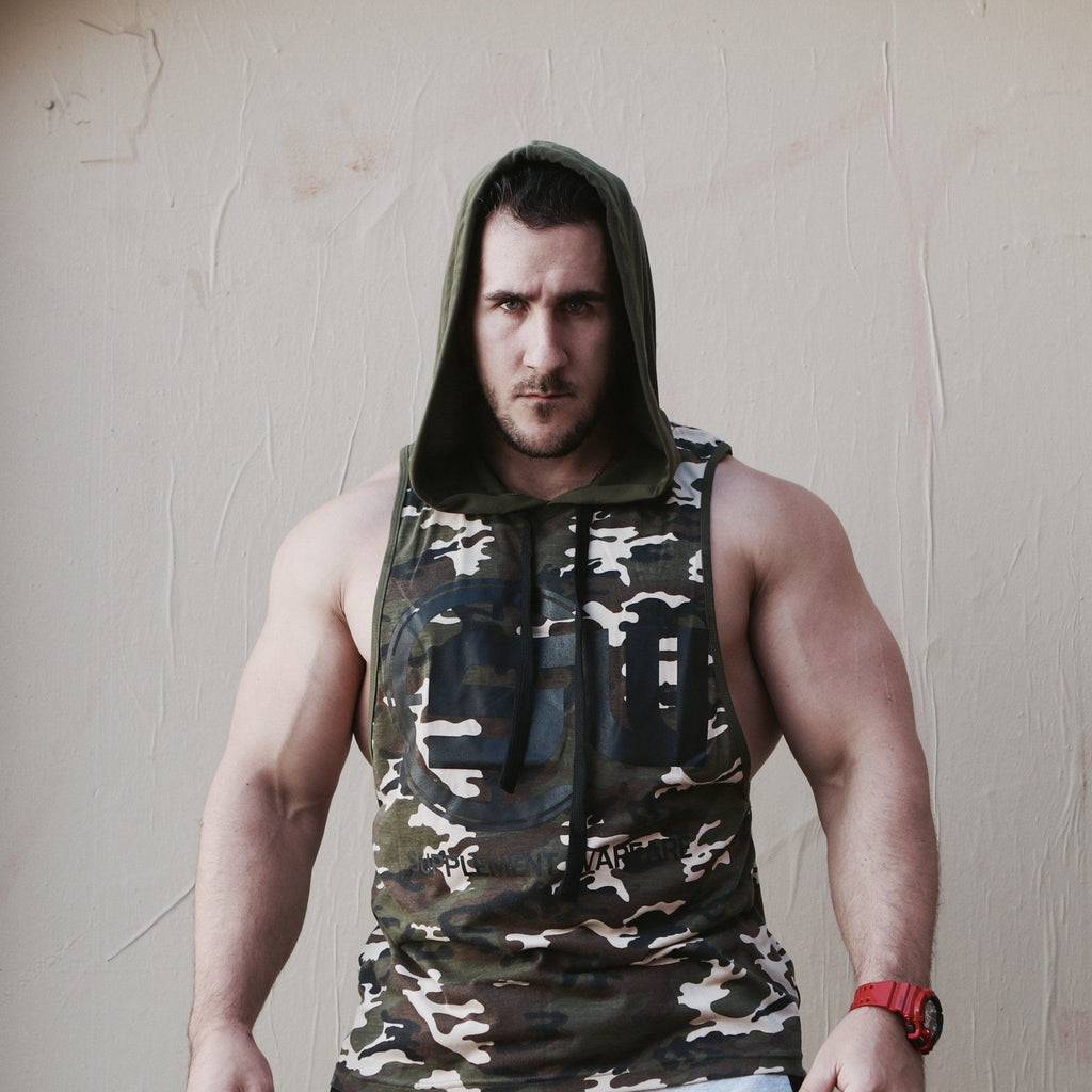 Supplement Warfare Sleeveless Hoody Tank Camo