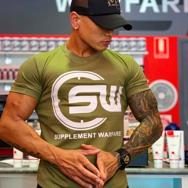 Supplement Warfare Khaki Tshirt
