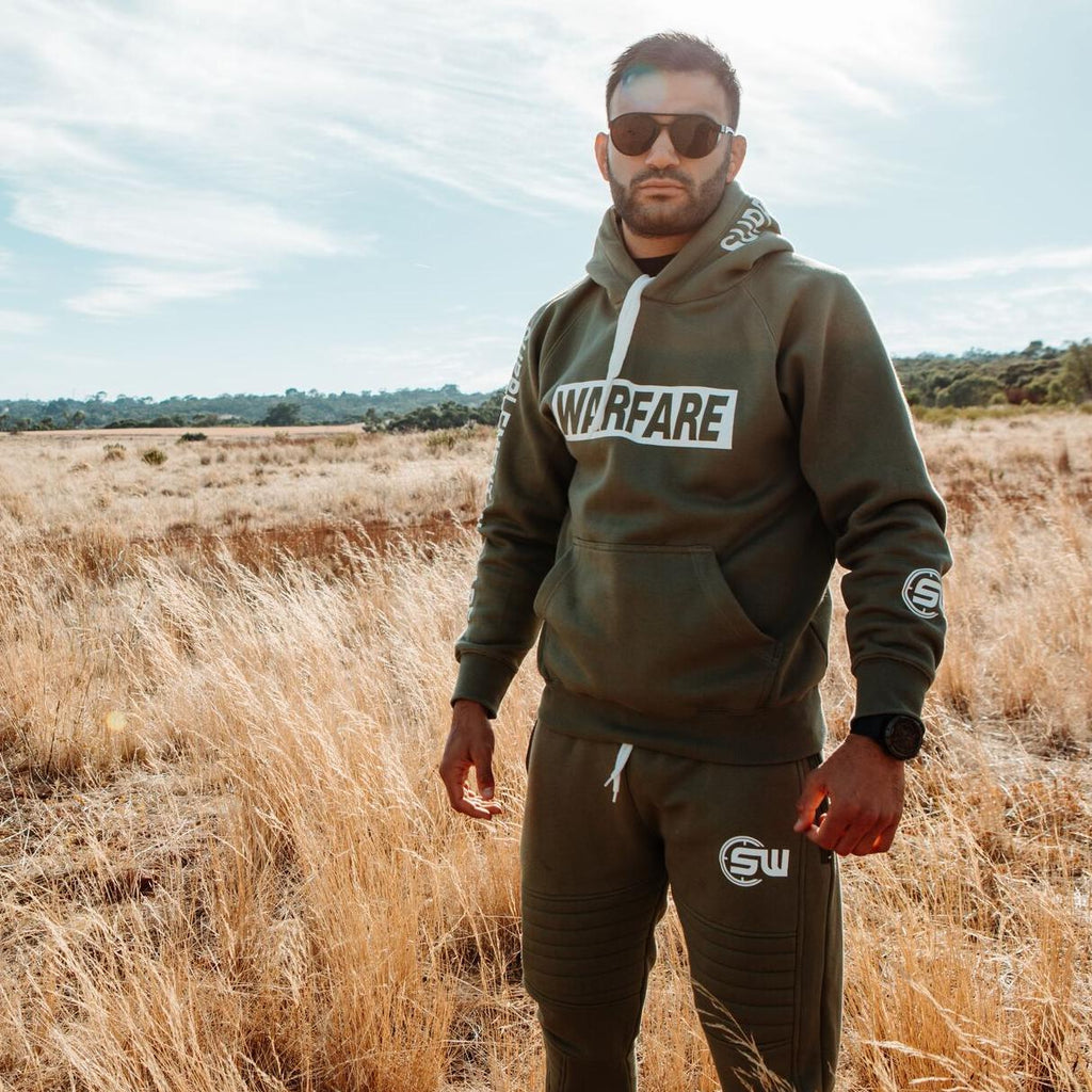 Supplement Warfare Khaki Tracksuit