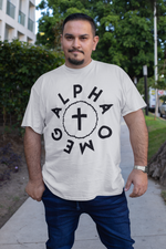 Load image into Gallery viewer, Alpha Omega - Crown and Cross - Big-N-Tall - Broken Chains Apparel