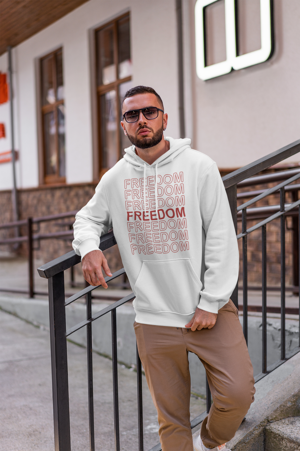 Freedom Hoodie - Broken Chains Apparel
