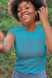 Freedom Women's Tee - Broken Chains Apparel