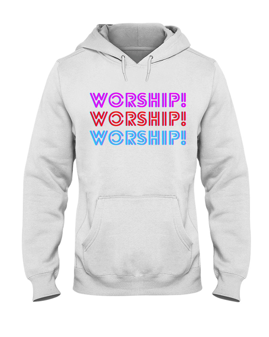 Worship Hoodie - Broken Chains Apparel