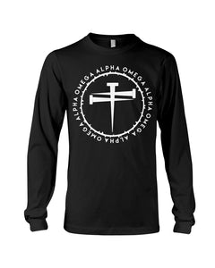 Alpha Omega - Nails Long Sleeve T-Shirt - Broken Chains Apparel