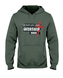 Worship More - Hoodie - Broken Chains Apparel