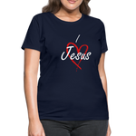 Load image into Gallery viewer, I Love Jesus Women's Tee - Broken Chains Apparel