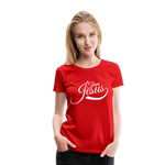 Load image into Gallery viewer, Team Jesus Women's Premium T-Shirt - Broken Chains Apparel