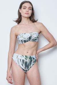 Palma Bandeau Top & Palma Retro High Leg Cut Bottom