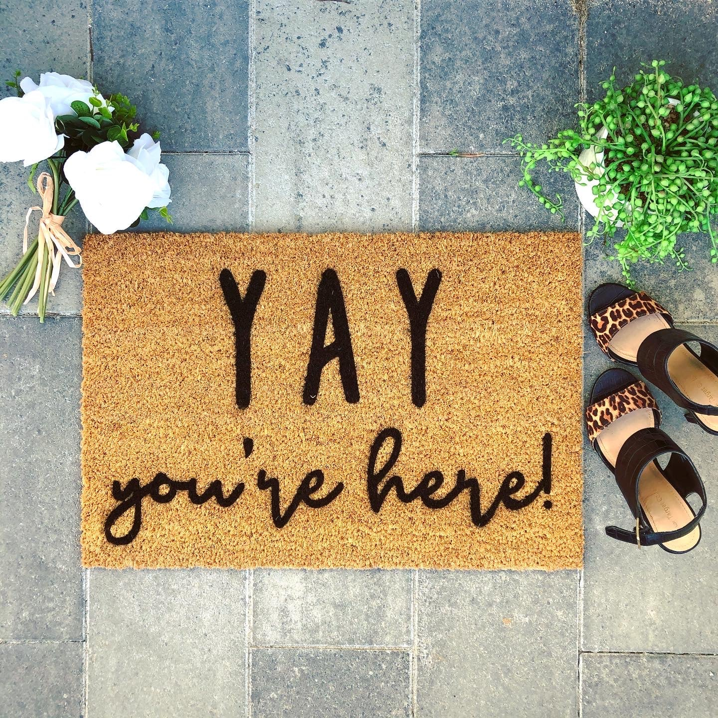 YAY Doormats... Click For More.