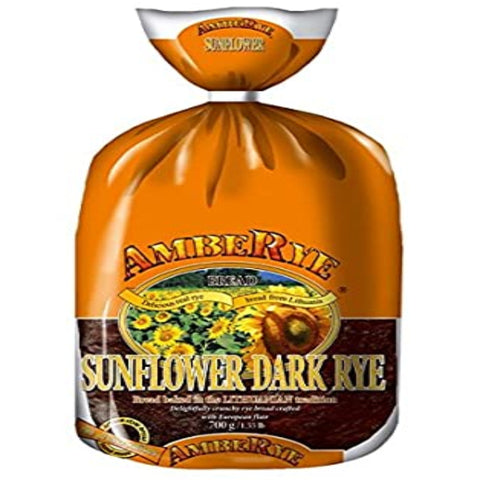 AMBERYE BREAD SUNFLOWER DARK RYE