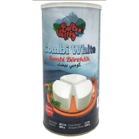 BALKAN VALLEY COMBI WHITE KOMBI BOREKLIK NET 800 GRAM - European Grocery USA