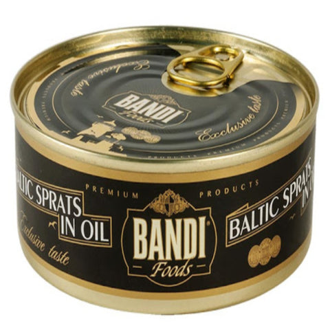 BANDI FOODS BALTIC SPRATS IN OIL NET 160